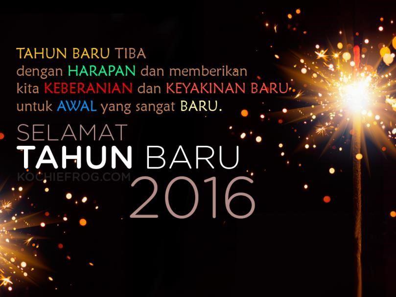 ucapan selamat tahun baru dalam bahasa inggris dan artinya