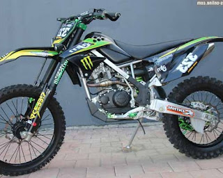 modifikasi klx 150 enduro