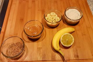 Banoffee Dessert lecker einfach Vorbereitung