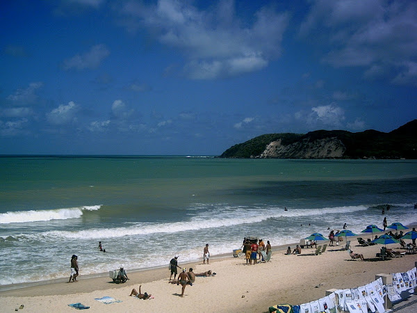 Travel flashback: Ponta Negra, Brazil