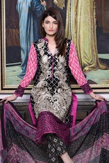 ZS Textiles Kalyan Lawn Designer Embroidered Collection 2016