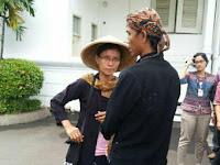 Petani Kendeng menangis saat bertemu Jokowi
