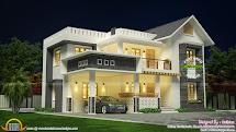 2223 Square Feet Modern 4 Bhk House - Kerala Home Design