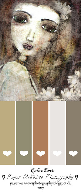 Color Palette Inspiration. Paper Meadows Photography Blog-Free Printable-Mixed Media Art Girl