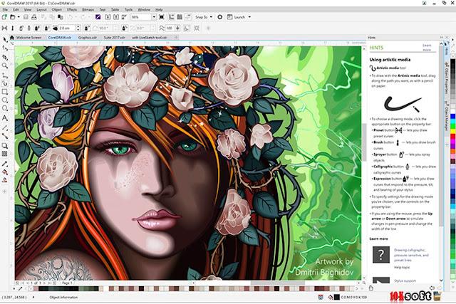 CorelDRAW Graphics Suite 2017 Latest Version Free Download