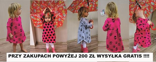 Sukienka w parasolki  - Evita