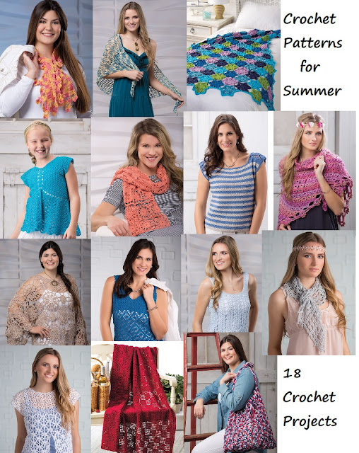 Summer Crochet Patterns 18 projects to crochet