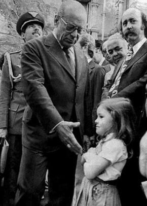 Em 1979, garota não cumprimentou coronel Figueiredo por birra