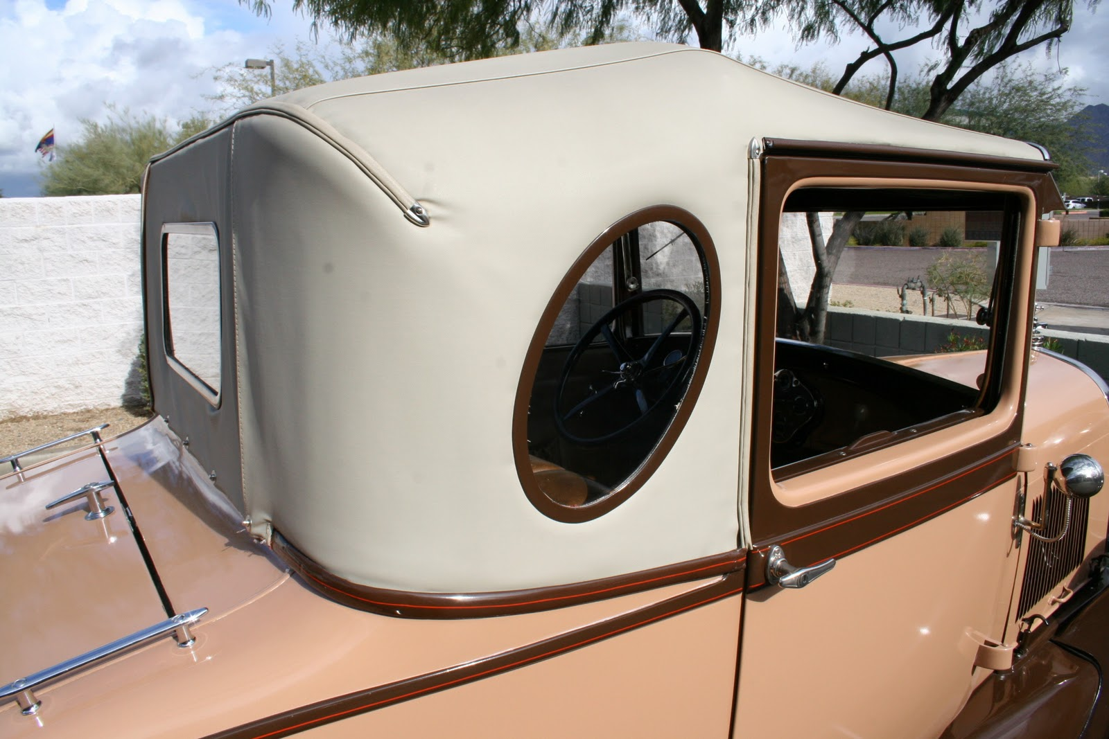 Views From North Cecil 1929 Oval Window Model A Business Coupe
