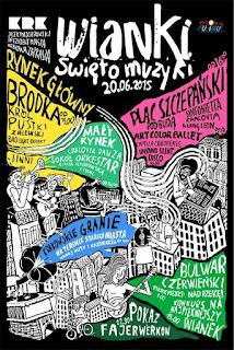Calencadio eventi Cracovia Giugno 2015