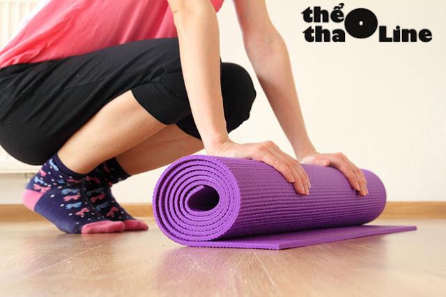 cách chọn thảm tập yoga