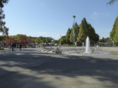 花博記念公園鶴見緑地 中央噴水