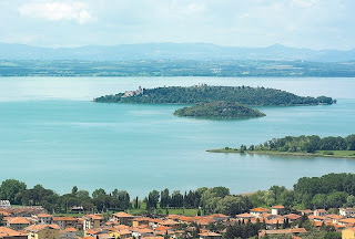 Visiting Lake Trasimeno