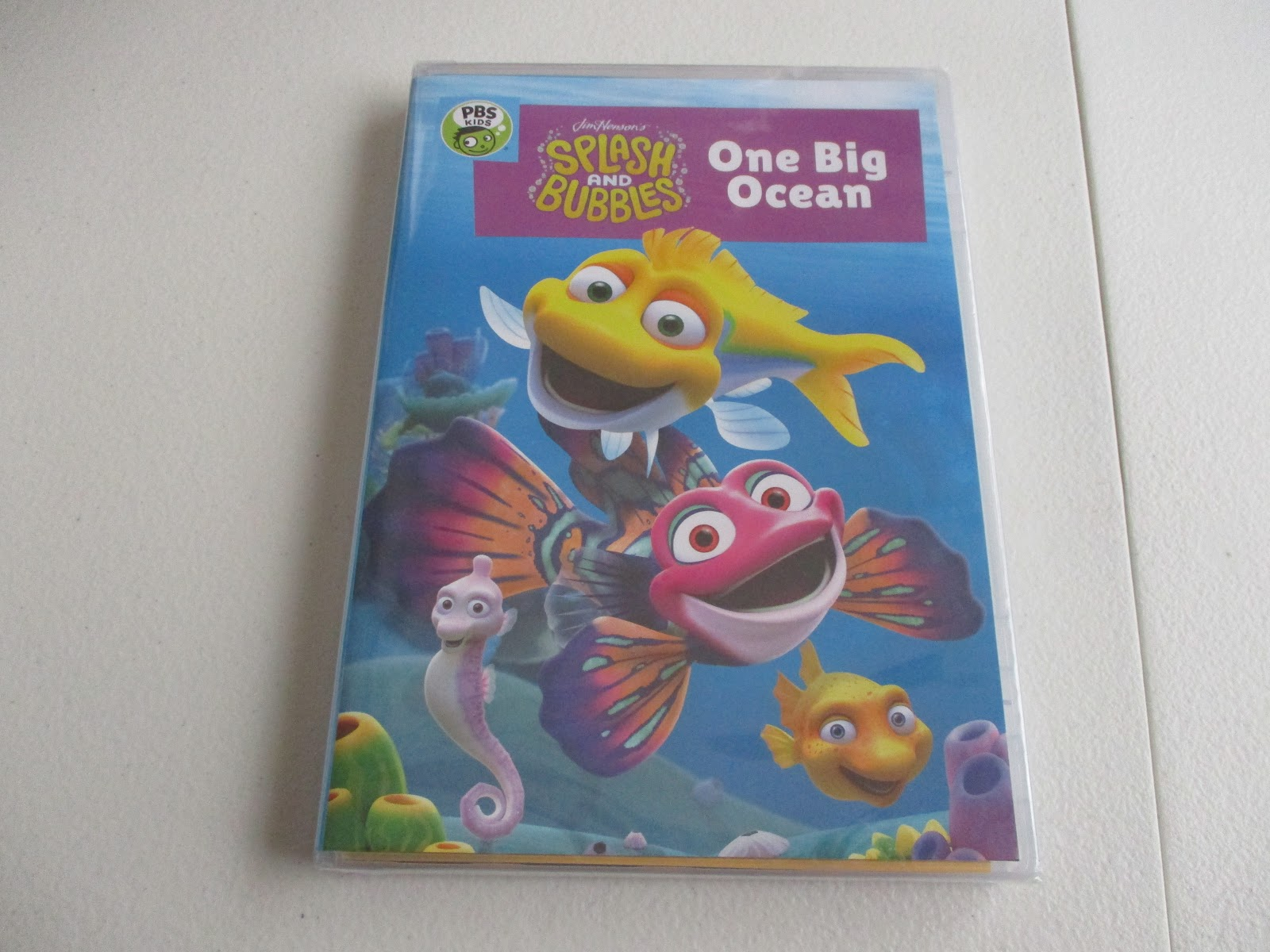 splash and bubbles one big ocean dvd