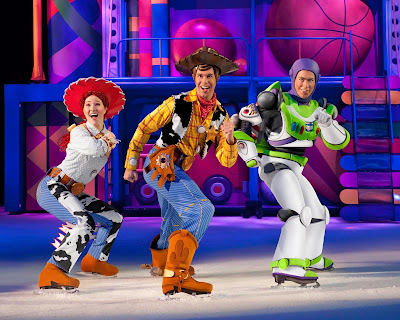 Disney on Ice Buzz, Woody and Jessie from Toy Story in Newcastle