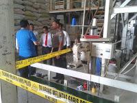 Polisi Grebek Pabrik Pengolahan Beras Berbahan Kimia di Kabupaten Malang