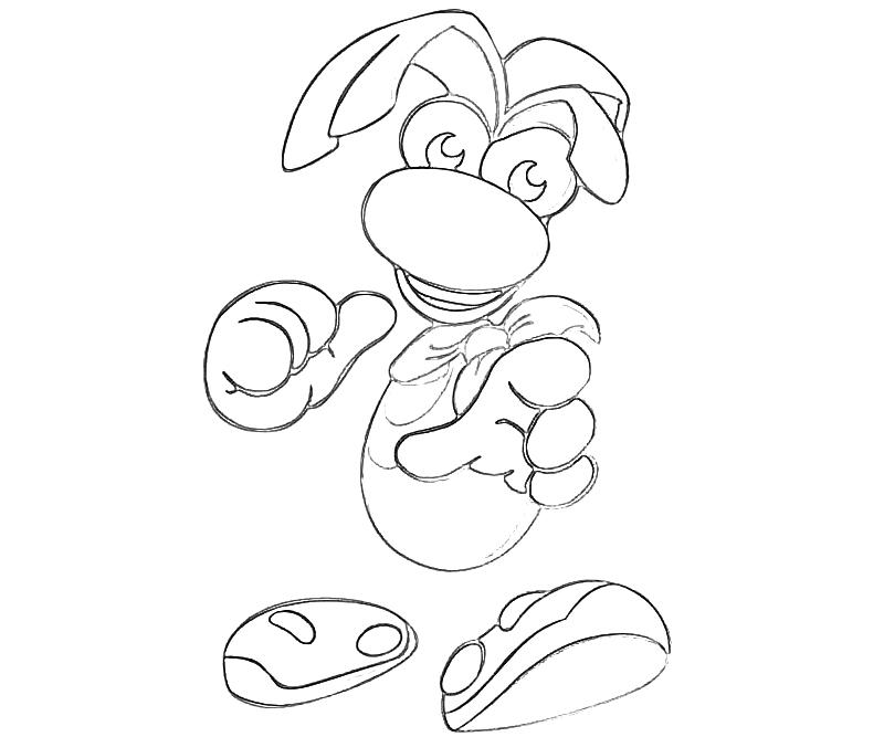 Rayman legends free coloring pages for Tikki tikki tembo coloring pages