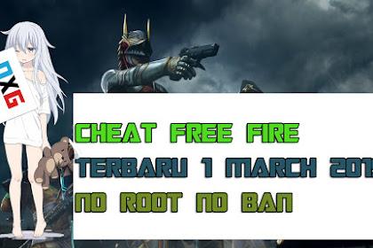 Cheat Free Fire Terbaru Maret 2019 No Ban No Root!