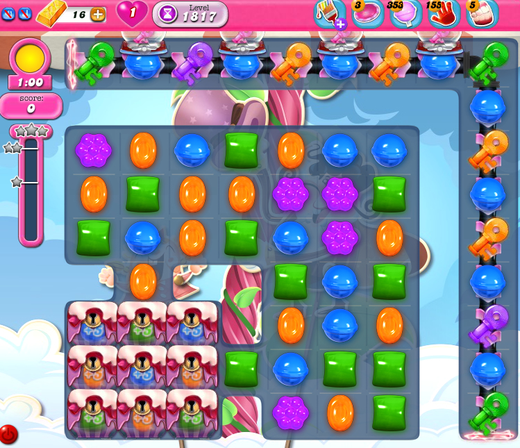 Candy Crush Saga 1817