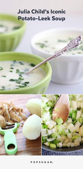 Potage Parmentier (Potato Leek Soup)
