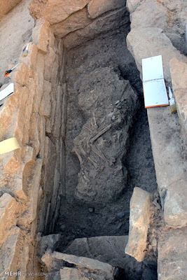 7,000-year-old cemetery uncovered in Khuzestan