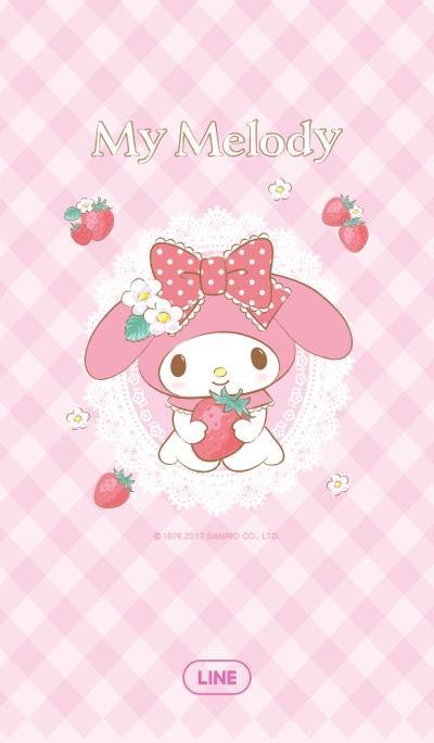 마이멜로디: 상큼 딸기 테마