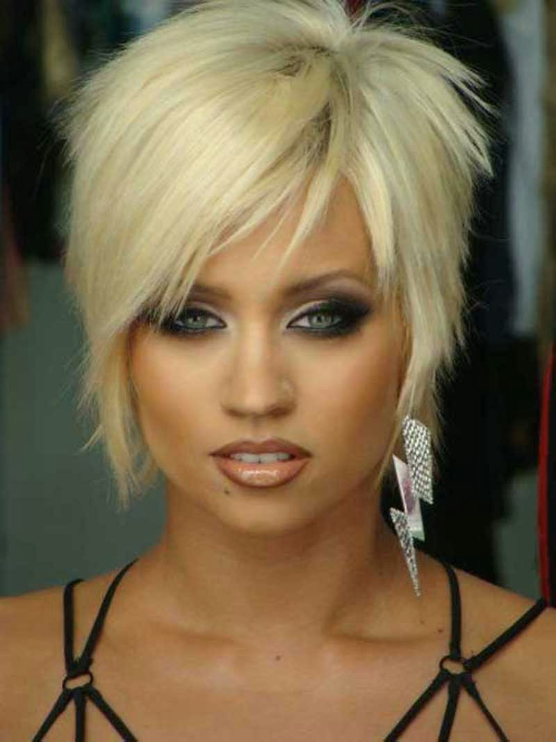 Short Hairstyles: March 2014
