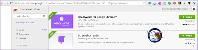 Do your students have the accommodation of having tests read out loud?  Use Read and Write for Google!