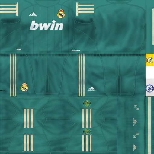 buy popular 4b325 b4626 Third Kits Real Madrid 12/13 by Chealsawy - PES 6 UPDATE