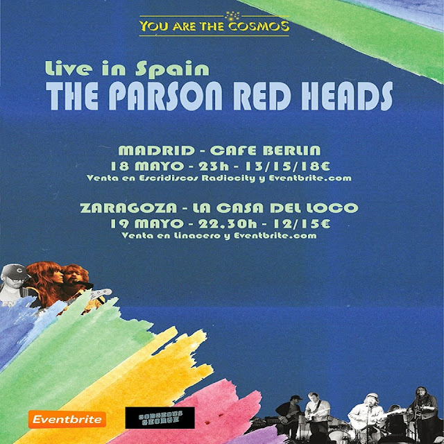 The Parson Red Heads gira España 2018
