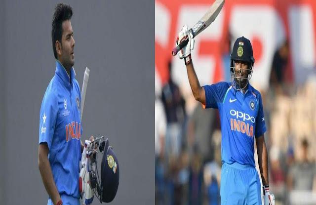 ऋषभ पंत और अंबाती रायडू को विश्व कप 2019 के लिए भारतीय टीम में जगह नहीं मिली