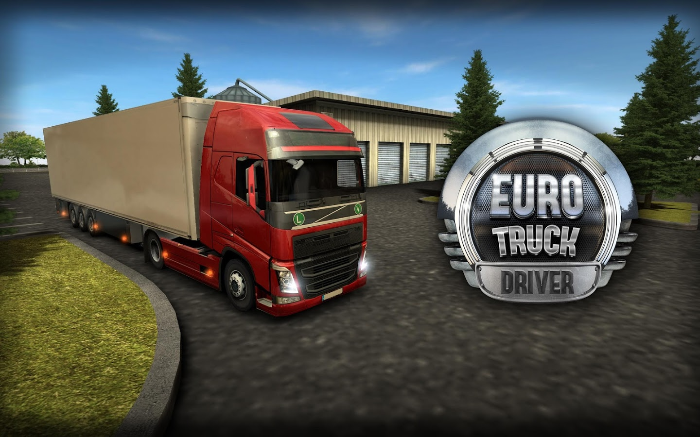 Euro Truck Driver (Simulator) Android Gameplay