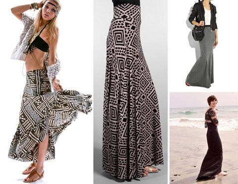 e5d5e0f33 modas diferentes: Faldas y Polleras Largas