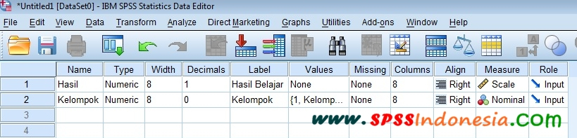 Cara Uji Independent Sample T-Test dan Interpretasi dengan SPSS