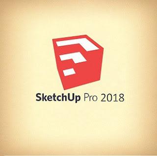SketchUp Pro 2018 18.0.16975 sólo x64 (Inglés) (Diseño Gráfico en 3D)