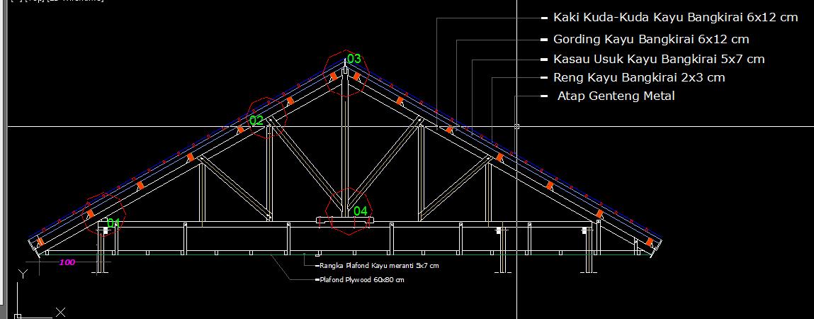 baja ringan cnp mengenal konstruksi atap | sakareppe dewe
