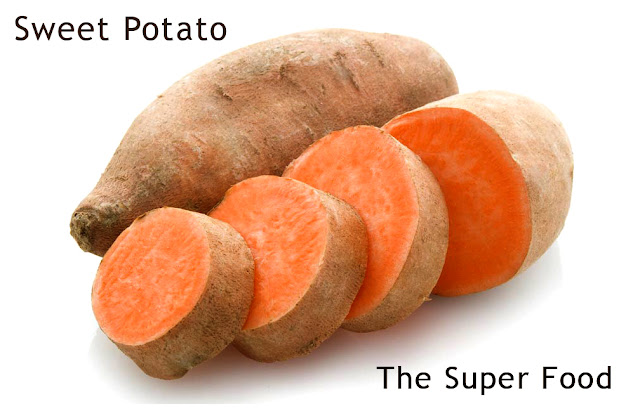 The sweet potato is a super food!