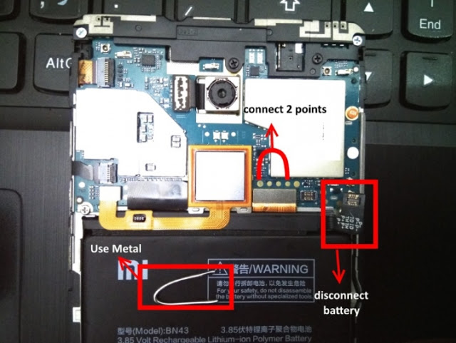 Fix Bootloop dan Brick Xiaomi dan Redmi LB, Cara atasi Bootloop Xiaomi dan Redmi dengan Mode EDL, Atasi Xiaomi dan Redmi Brick dengan Test Point, Cara mengatasi Xiaomi dan Redmi yang Bootloop dengan cara Test Point