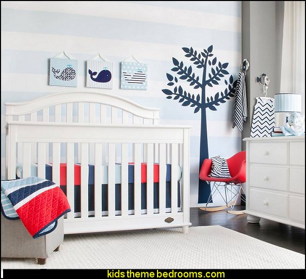 Jumbo Wall Decal Set - Tree  modern baby nursery - modern kids bedrooms  modern baby nursery - modern kids bedrooms - modern childrens furniture - modern baby bedding - modern home style decorating Mid Century modern decor - Modern baby bedrooms - modern baby girls nursery - modern baby boys nursery - modern baby