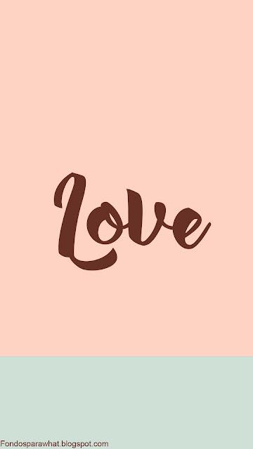 Fondo muy Love