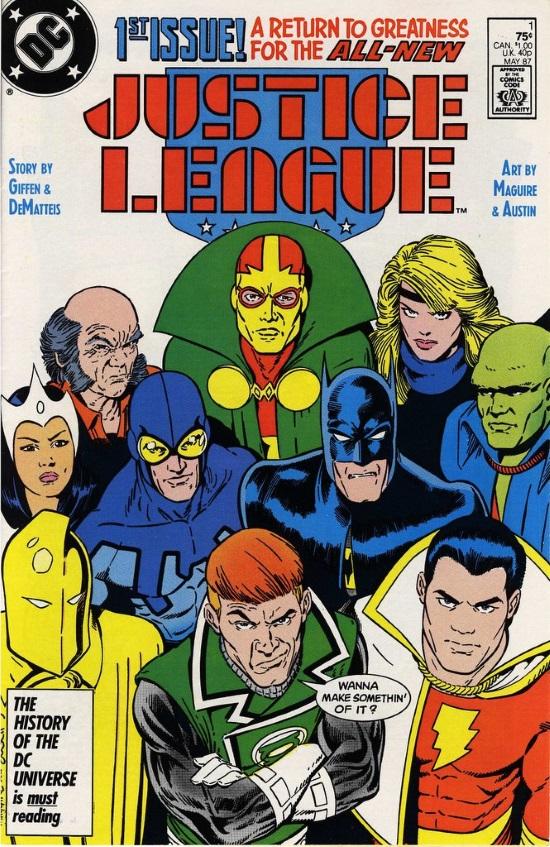 Grandes Autores de la Liga de la Justicia: Giffen, DeMatteis y Maguire - JLI