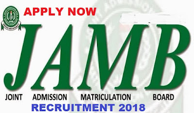 Apply For Joint Admissions and Matriculation Board Recruitment 2018 | JAMB Application Form Portal