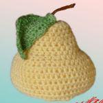 patron gratis pera amigurumi | free amigurumi pattern pear