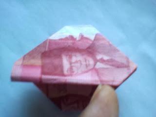 Origami seni melipat uang kertas cantik2