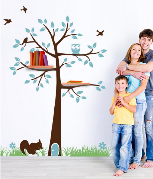 Decorare la cameretta con gli stickers murali in vinile famiglia