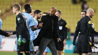 Thierry Henry: Monaco sack manager after three months in charge