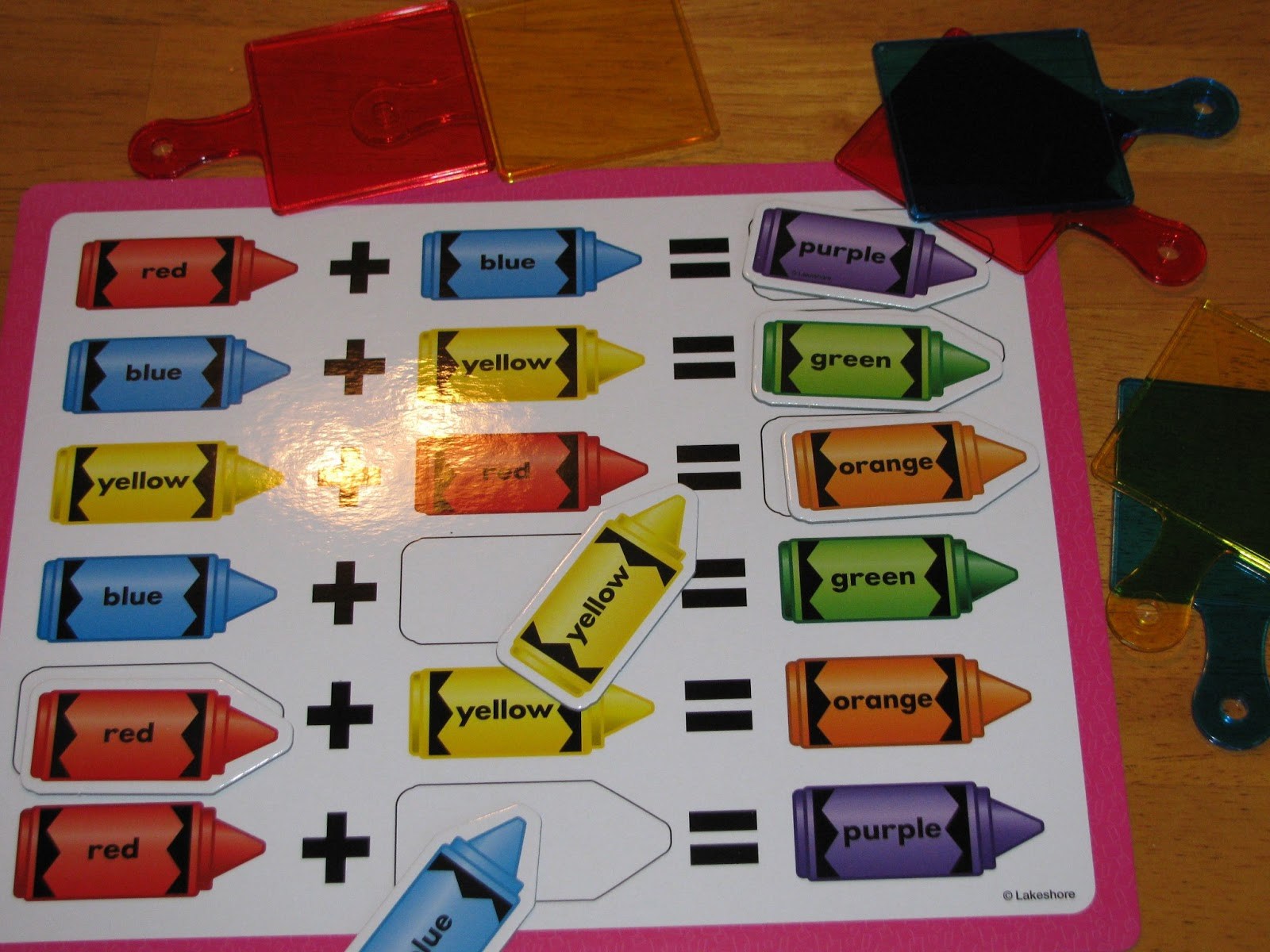 Back To School Science Center Ideas