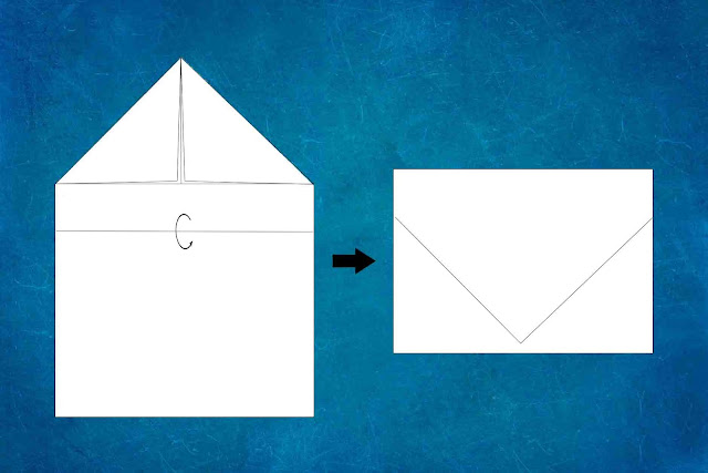 how to make a paper plane step 2