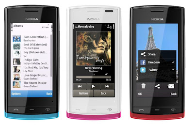 Nokia 500 Harga Dan Spesifikasi, HP Nokia Layar Entry Level Kamera 5MP