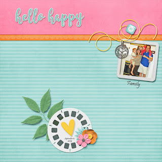 Ginger Scraps July 2018 Mini Kit Challenge and Freebie